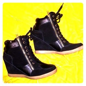Steve Madden Aura Wedge Sneakers